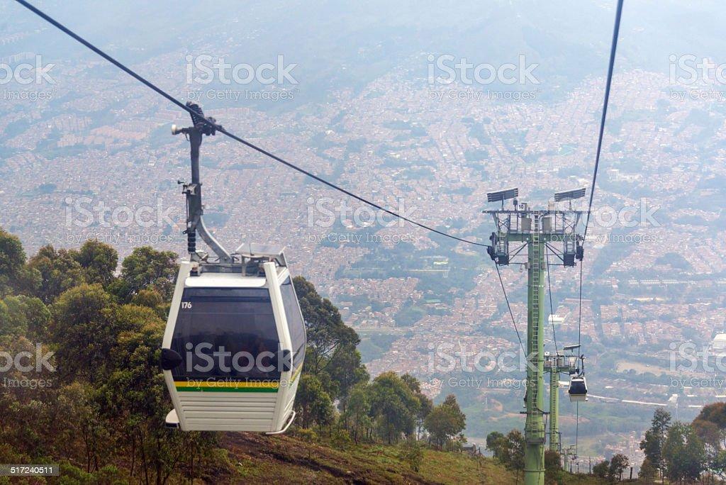 Medellin Cable Car stock photo