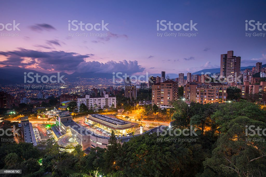 Medellin stock photo