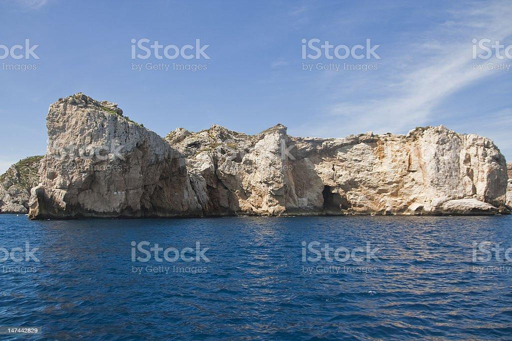 Islas Medas stock photo