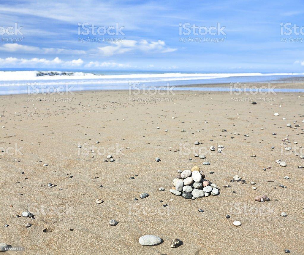 Medewi beach stock photo