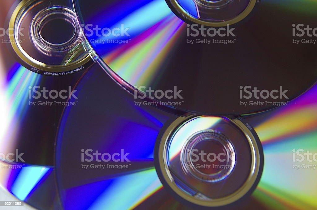 DVD Media 1 royalty-free stock photo