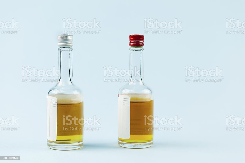 Media bottles royalty-free stock photo