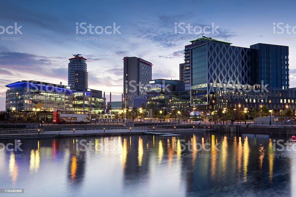 Media City royalty-free stock photo