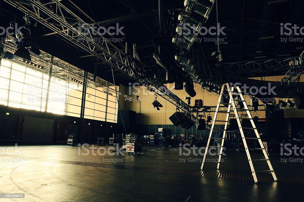 Media Event Buildup stock photo