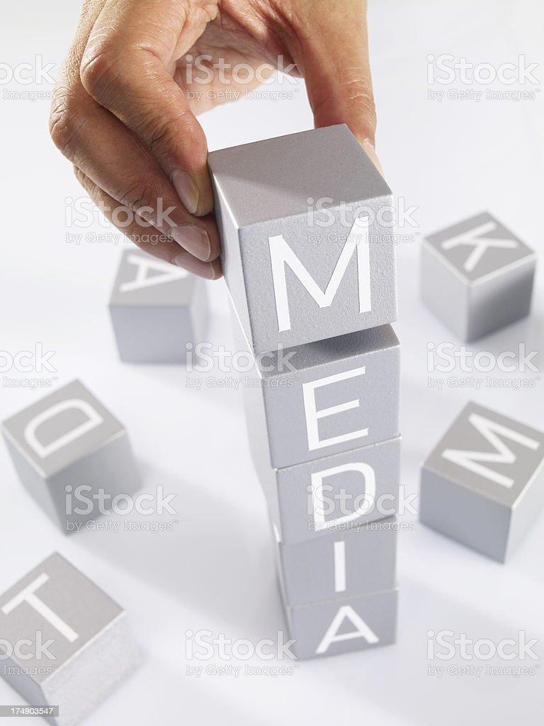 Media royalty-free stock photo