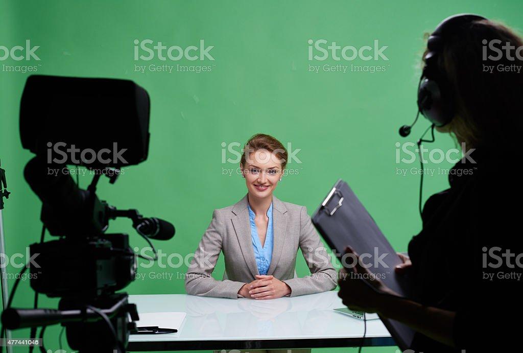 Media sphere stock photo
