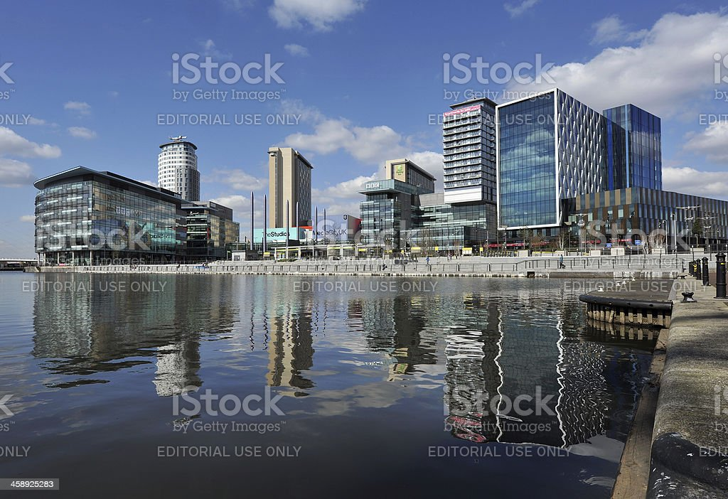 MediaCity Uk stock photo