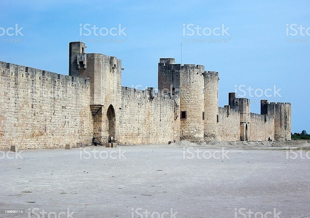 Mediaeval City royalty-free stock photo