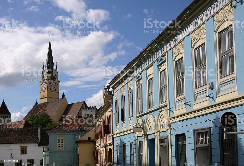Medias in Transylvania Romania royalty-free stock photo
