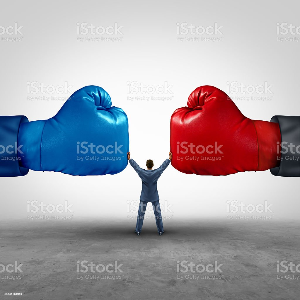 Mediate And Legal Mediation stock photo