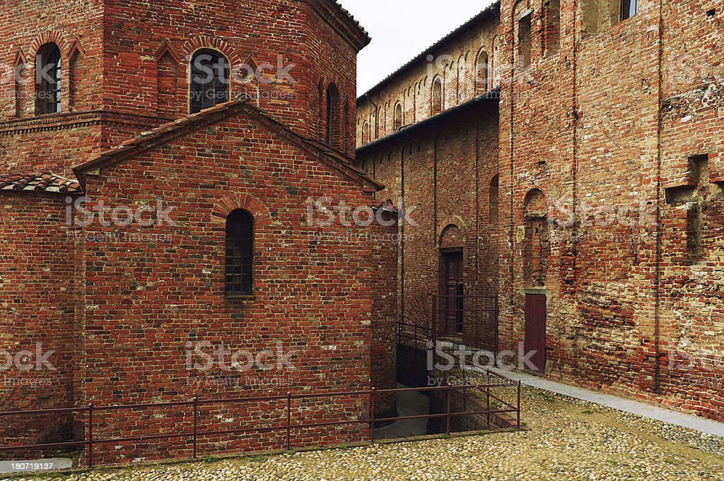 Mediaval Church. Color Image stock photo