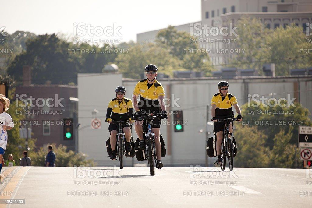 medic on bikes stock photo