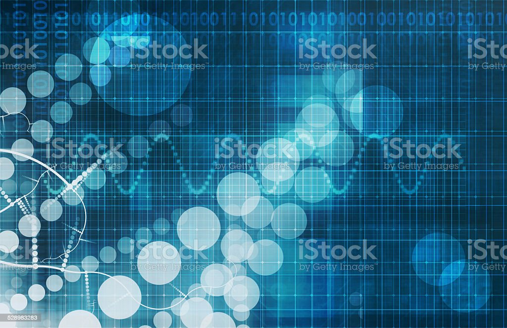 Medical Abstract stock photo