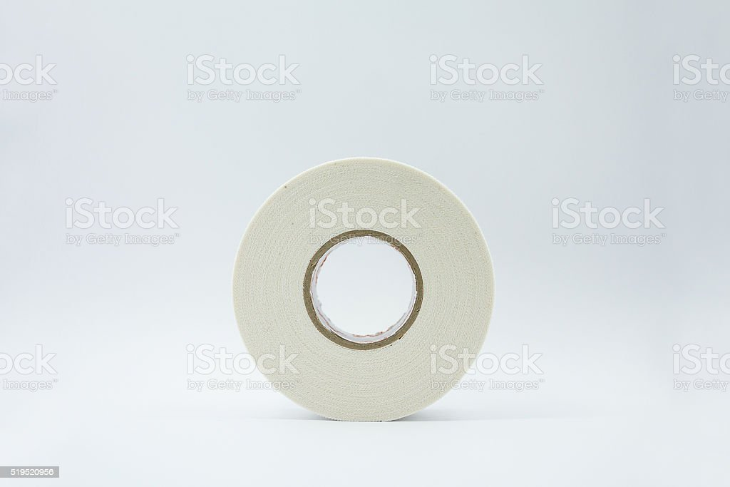Medical adhesive tape stock photo