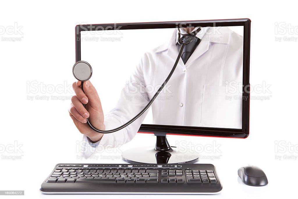Medical Advisor Online Internet stock photo