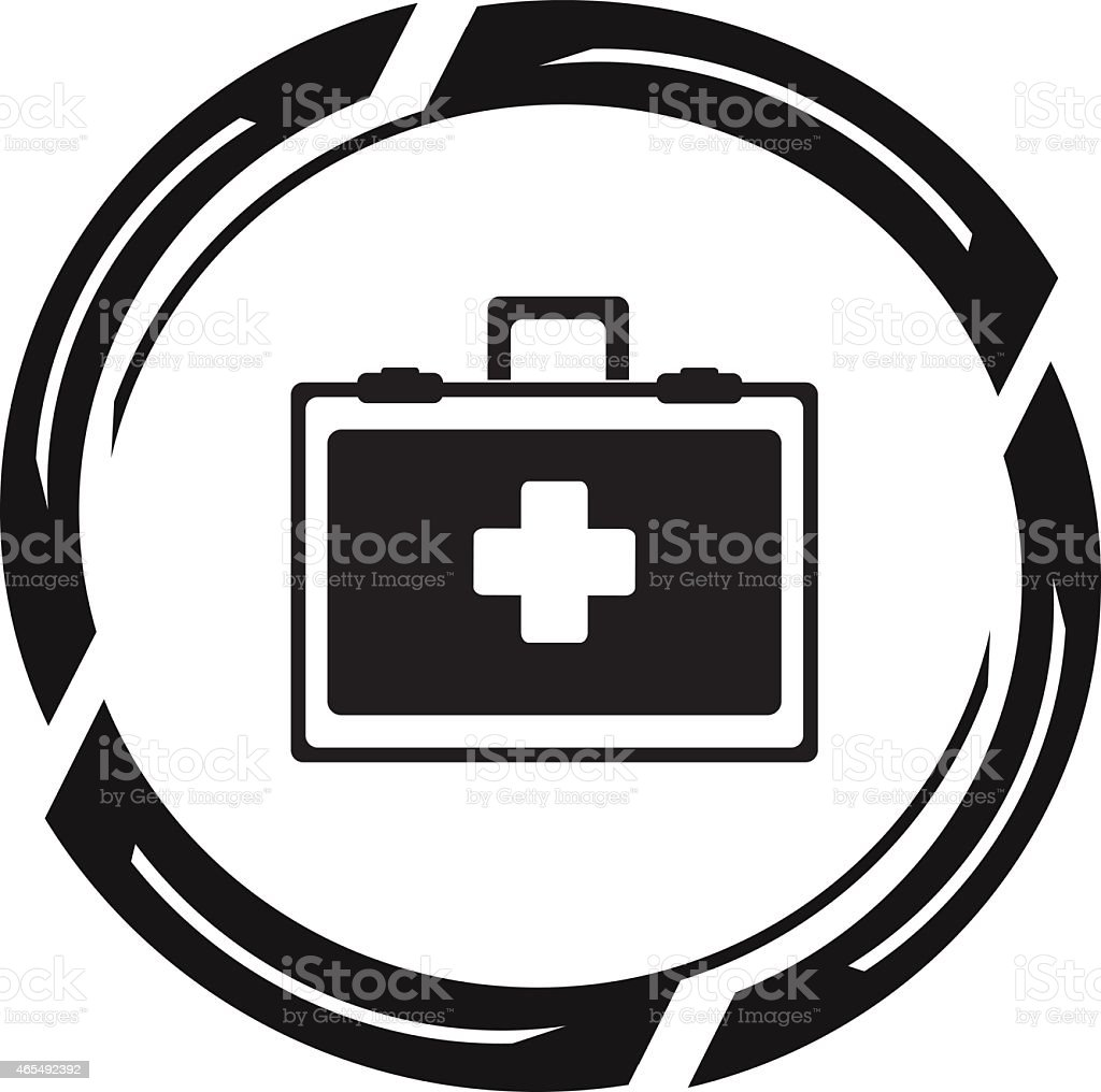 Medical and health Icons stock photo