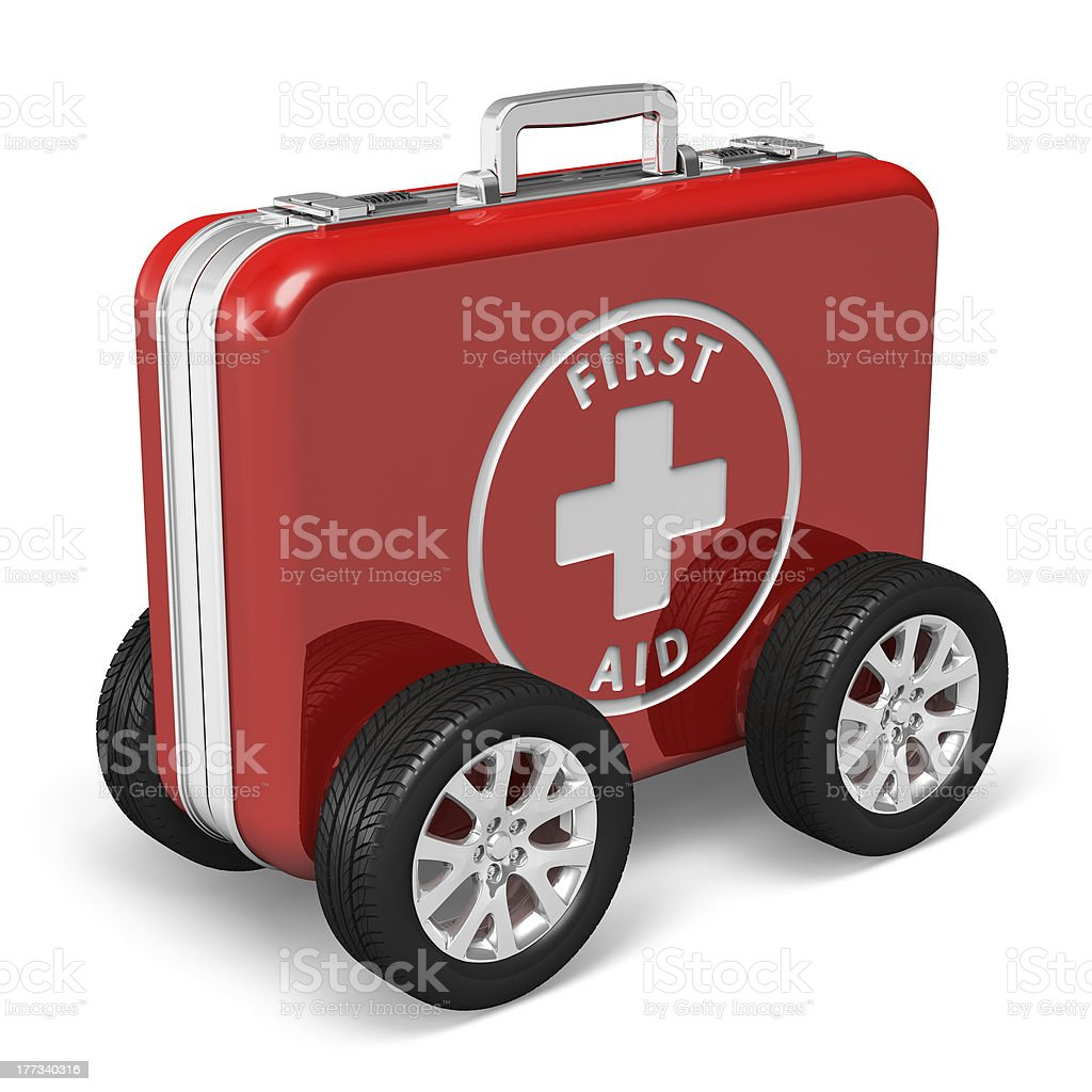 Medical assistance concept stock photo
