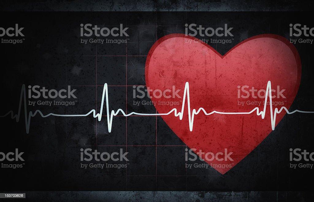 Medical background - Grunge style stock photo