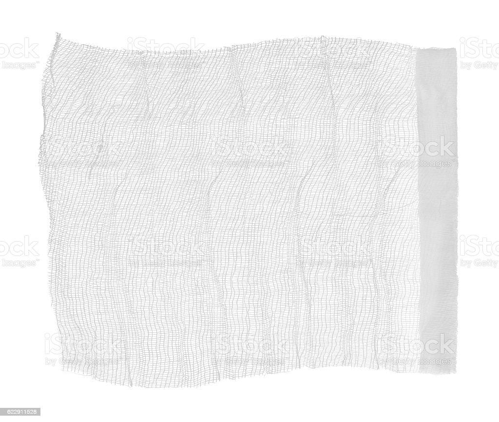 medical bandage on a white background stock photo