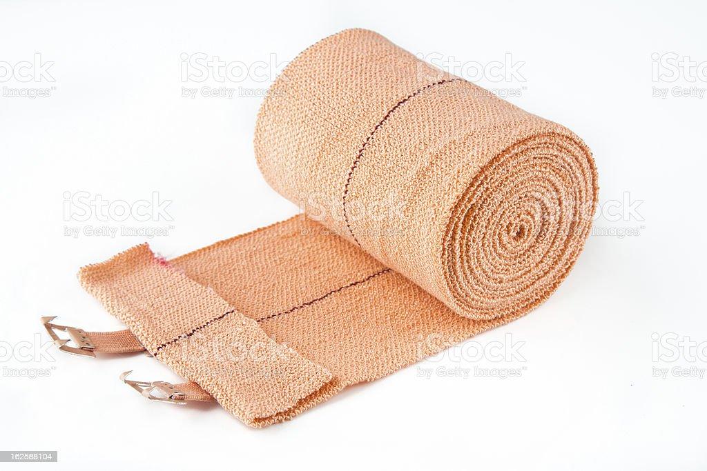 medical bandage roll royalty-free stock photo