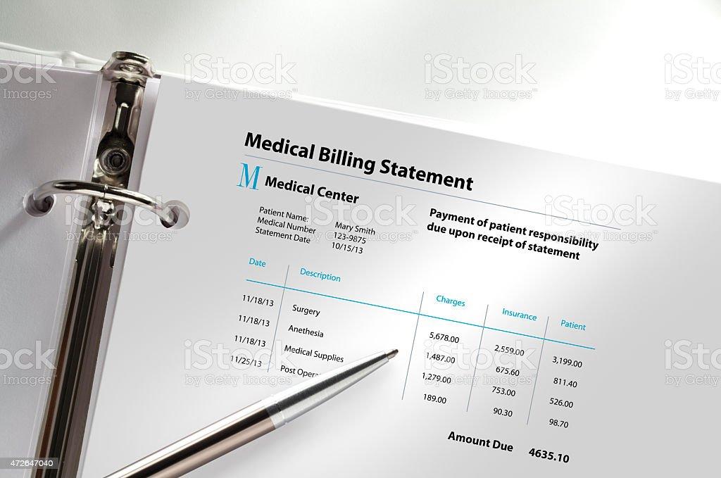 Medical Billing stock photo