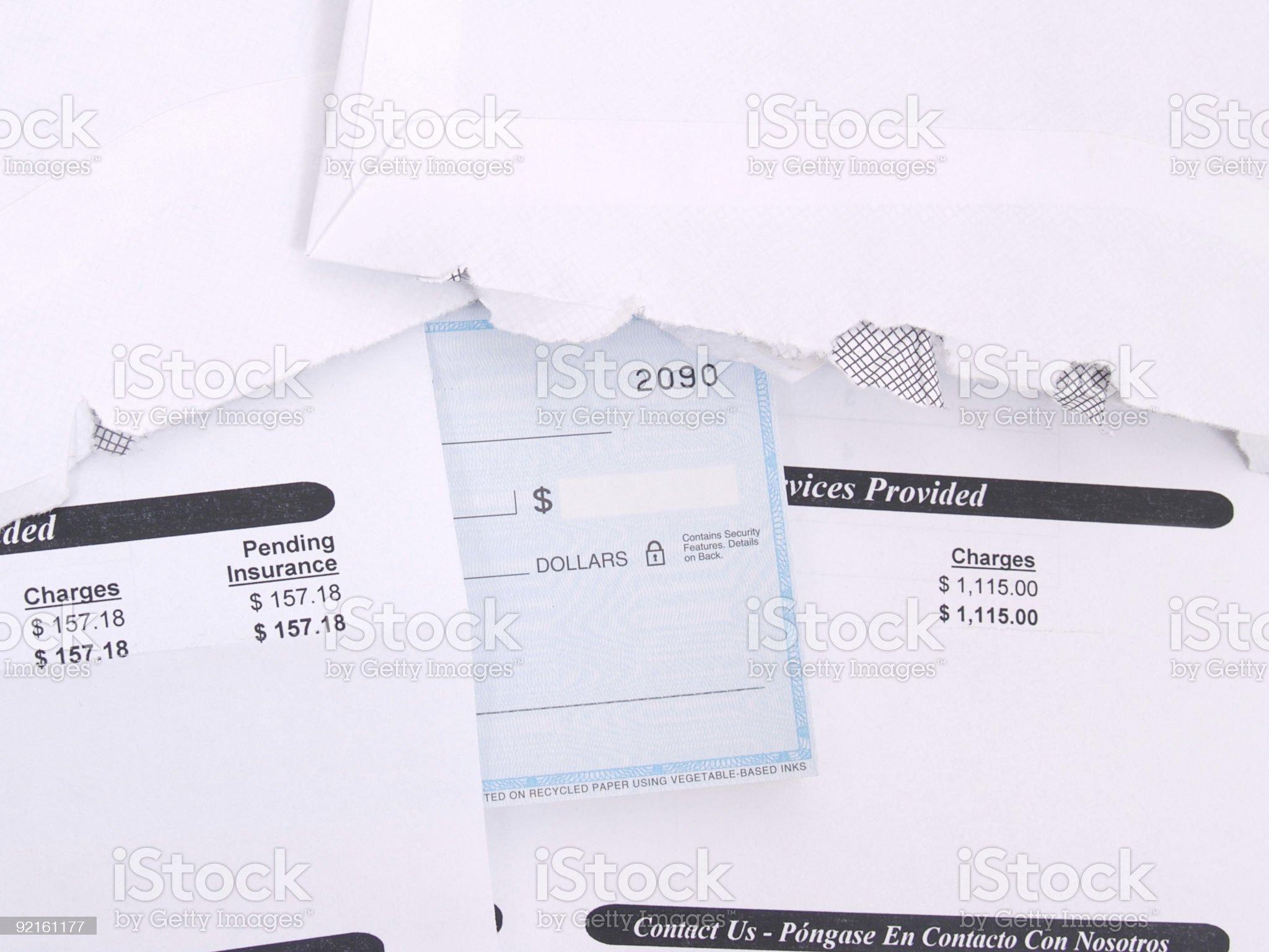 Medical Billing royalty-free stock photo