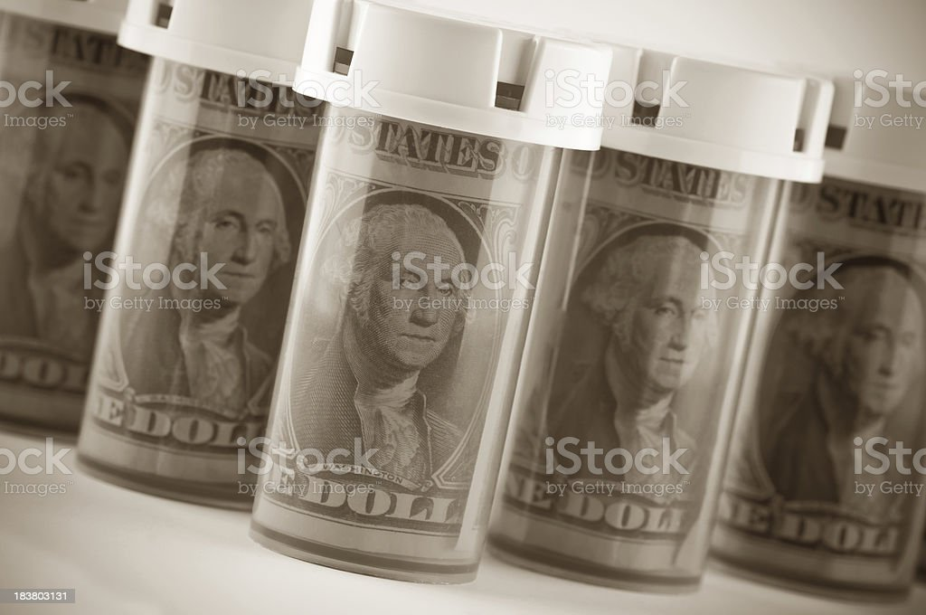 Medical Bills stock photo