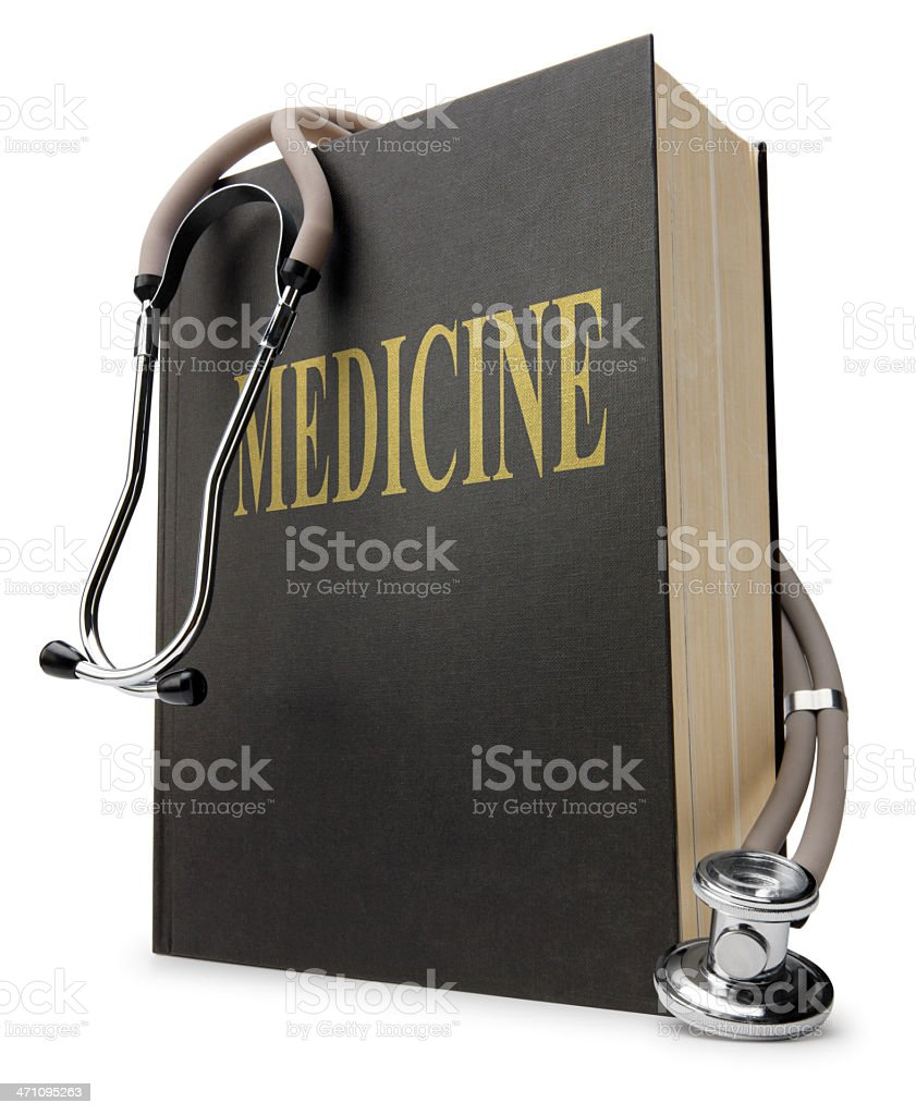 Medical Book royalty-free stock photo