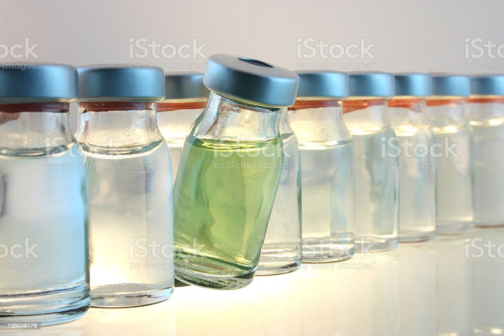 Medical bottles royalty-free stock photo