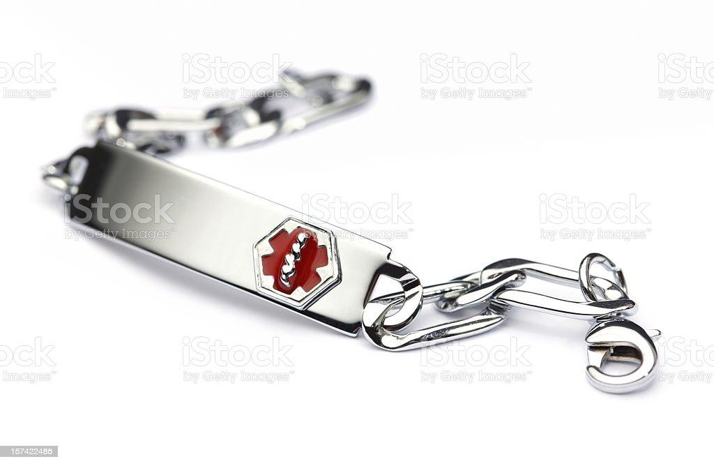 Medical Bracelet stock photo