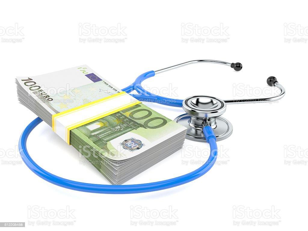 Medical bribe stock photo