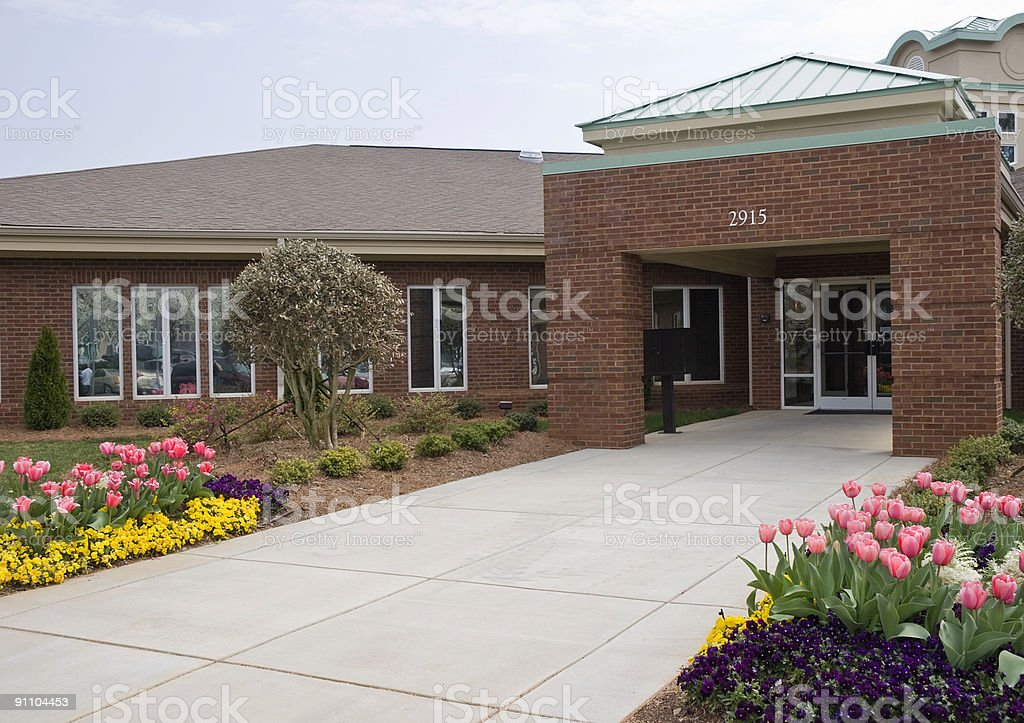 Medical Building Doctor's Office stock photo