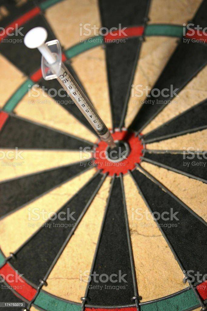 Medical Bullseye royalty-free stock photo