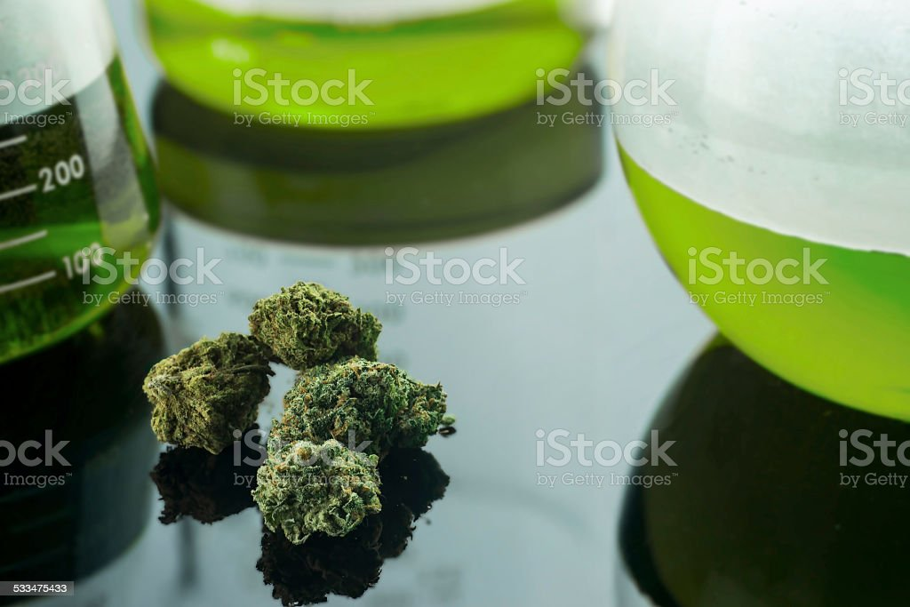 Medical Cannabis stock photo