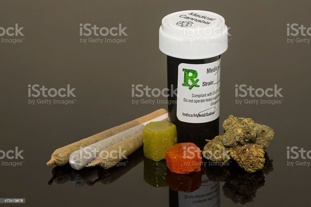 Medical Cannabis Products stock photo