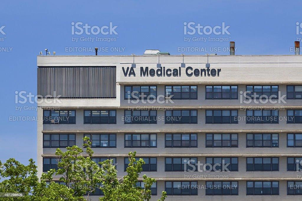 VA Medical Center, New York City. stock photo