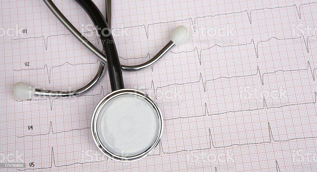medical chart royalty-free stock photo