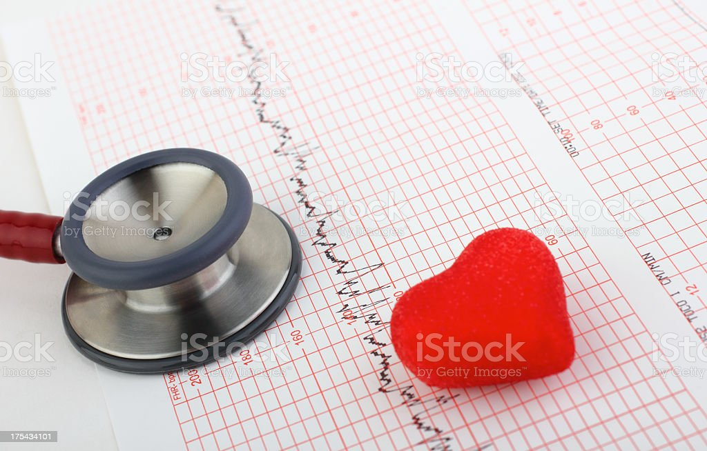 Medical Chart stock photo