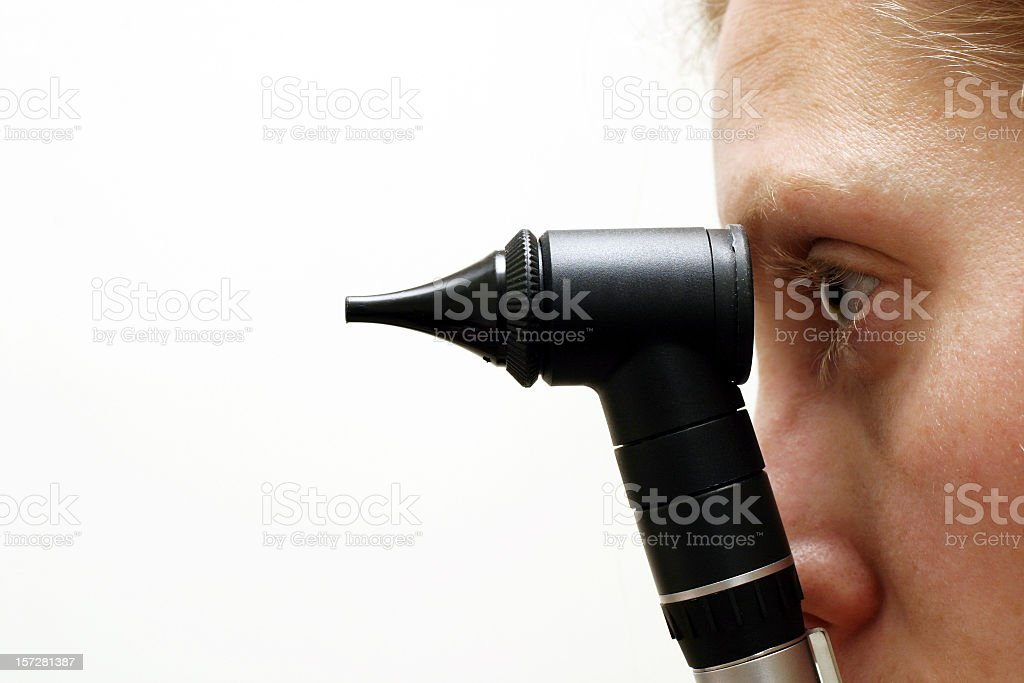 Medical check stock photo