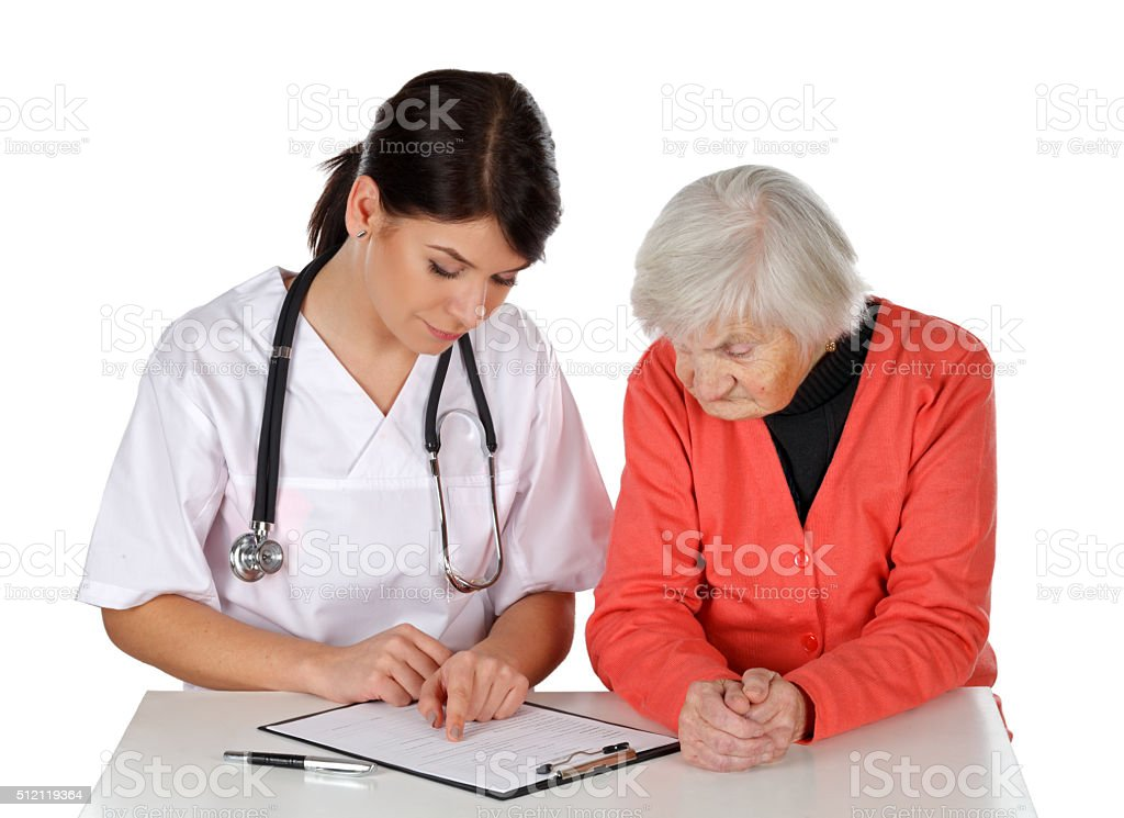 Medical check up stock photo