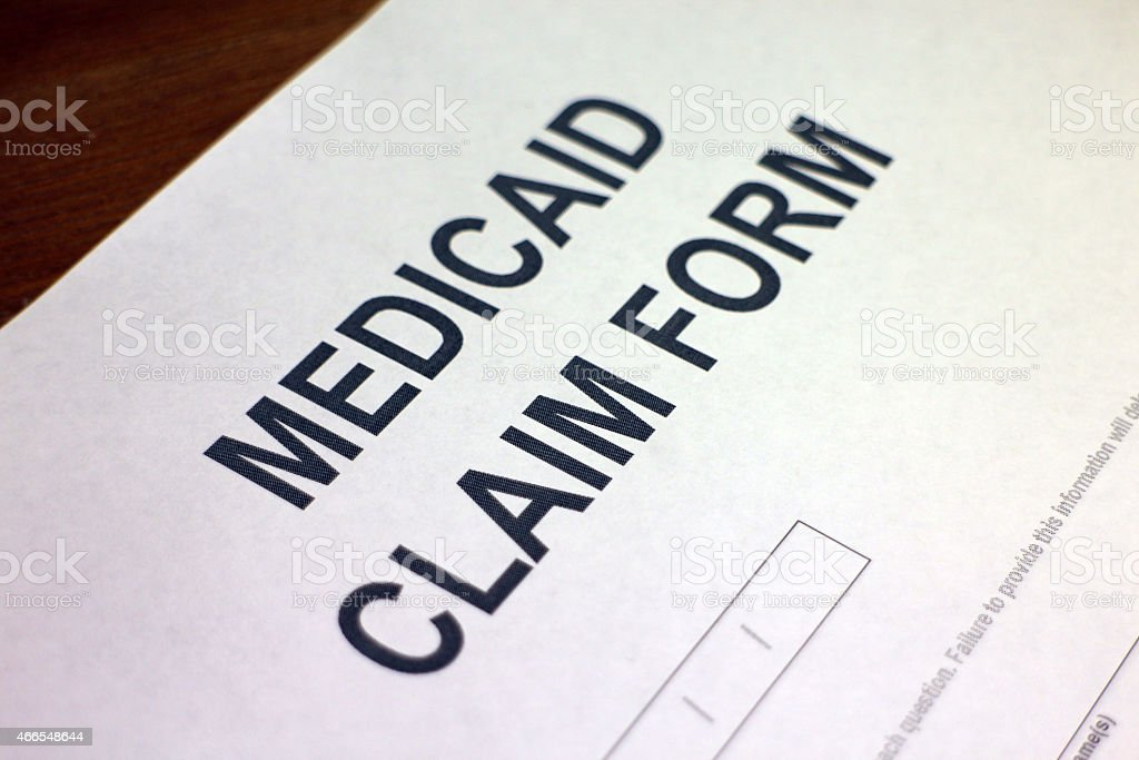 Medical Claim Form Closeup Stock Photo 466548644 | Istock