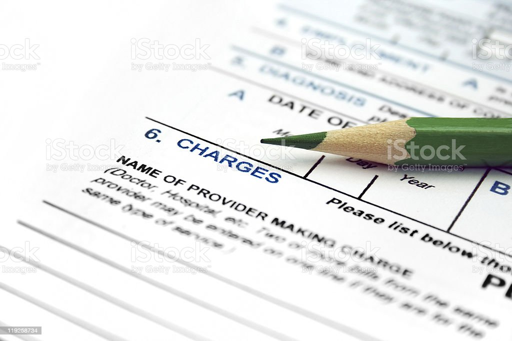 Medical Claim Form Stock Photo 119258734 | Istock