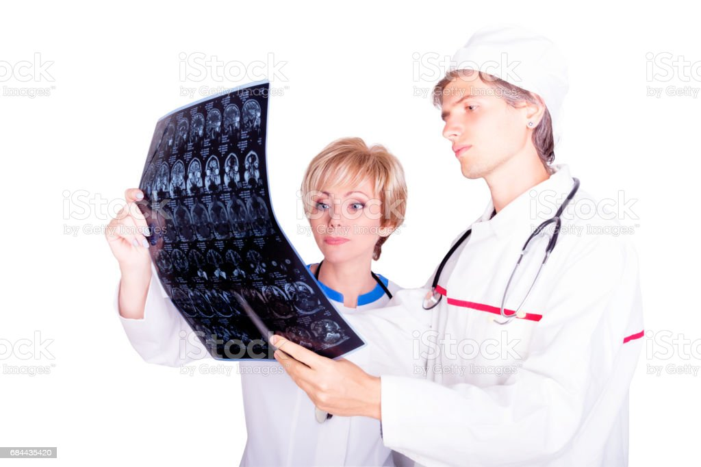 Medical concept. Doctor at work stock photo