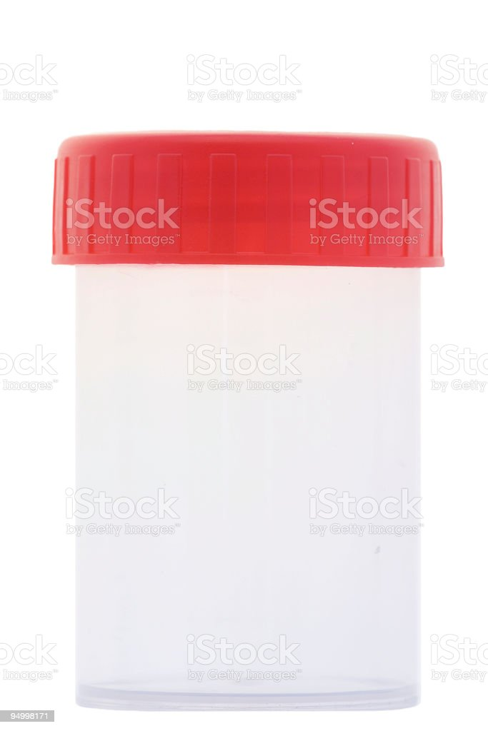 Medical container royalty-free stock photo