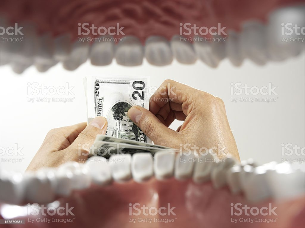 medical costs royalty-free stock photo