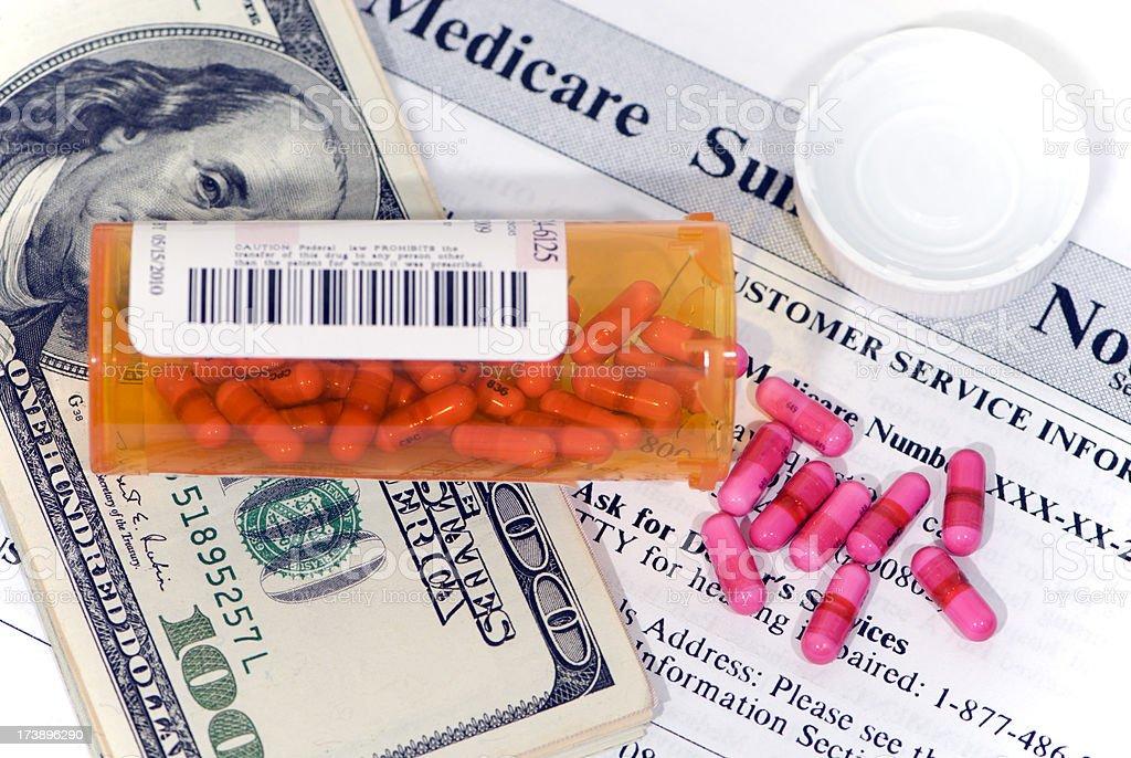 Medical Costs Skyrocket royalty-free stock photo