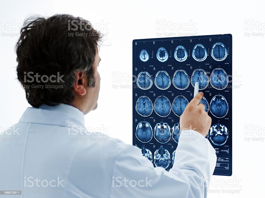 Medical doctor analyzing a CT scanPlease see some similar pictures...