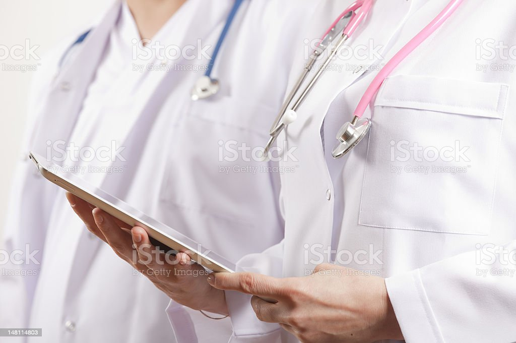 Medical doctors royalty-free stock photo