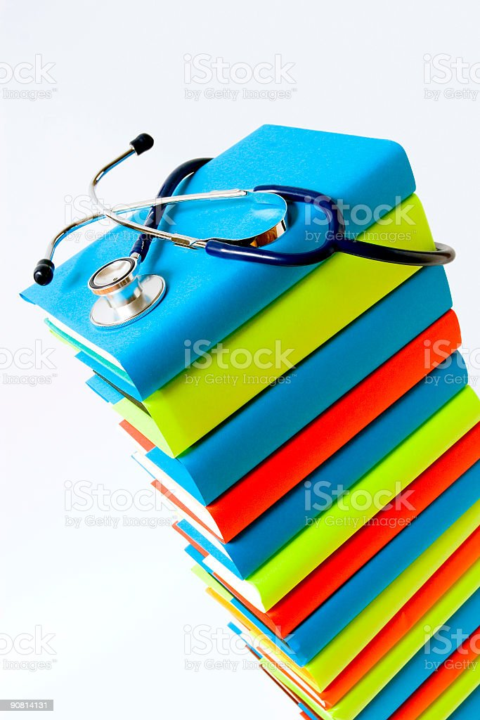 Medical education royalty-free stock photo