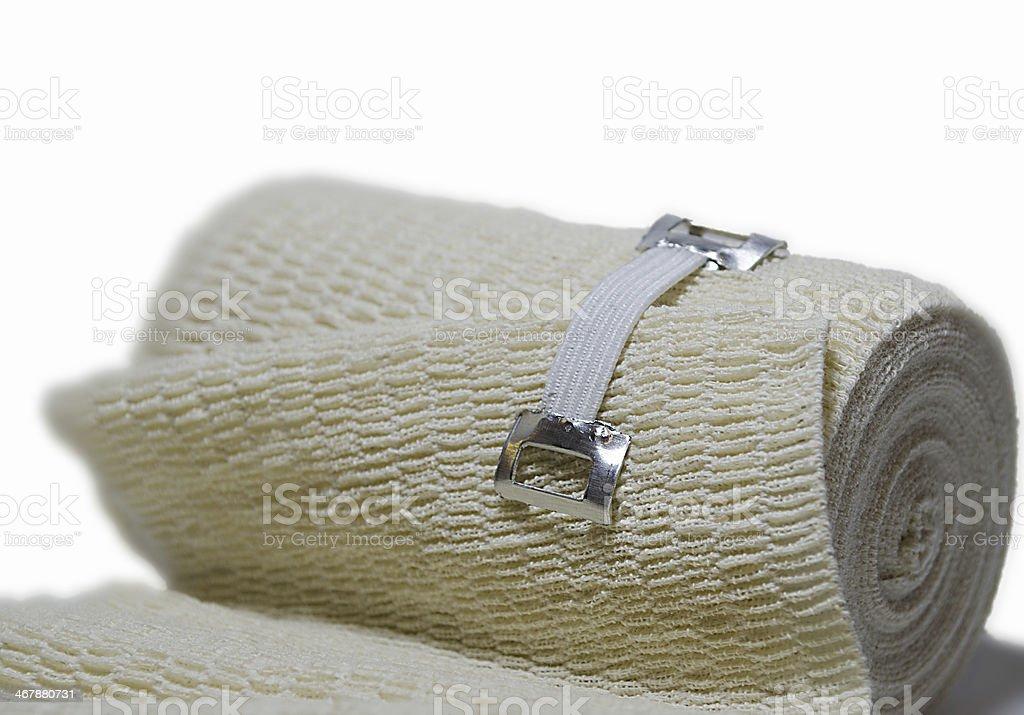 medical elastic bandage royalty-free stock photo